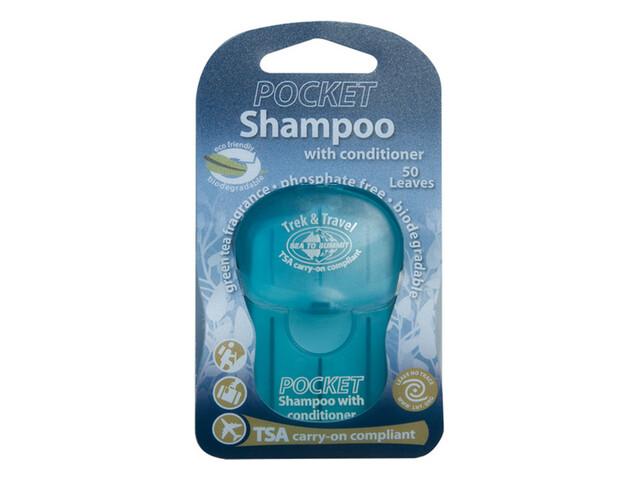 Sea to Summit Trek & Travel Pocket Conditioning Shampoo 50 Blättchen